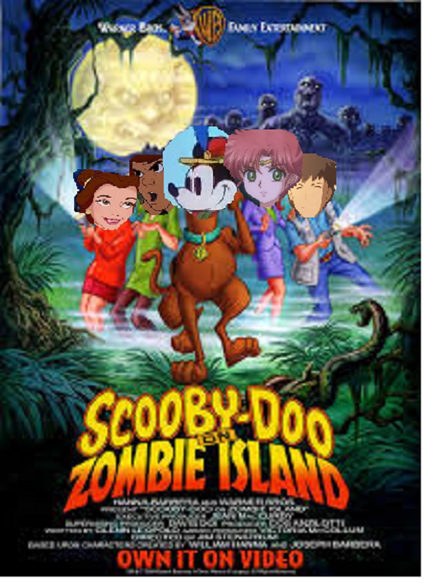 Mickey Mouse on Zombie Island