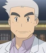 Professor Oak in Pokemon Origins