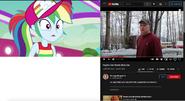Rainbow Dash (EG) vs Psycho Dad