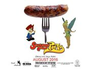 Sausage Party (Disney and Sega Style) Poster