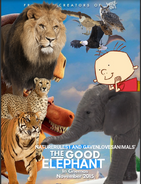 The Good Elephant (NR1GLA Style) Poster