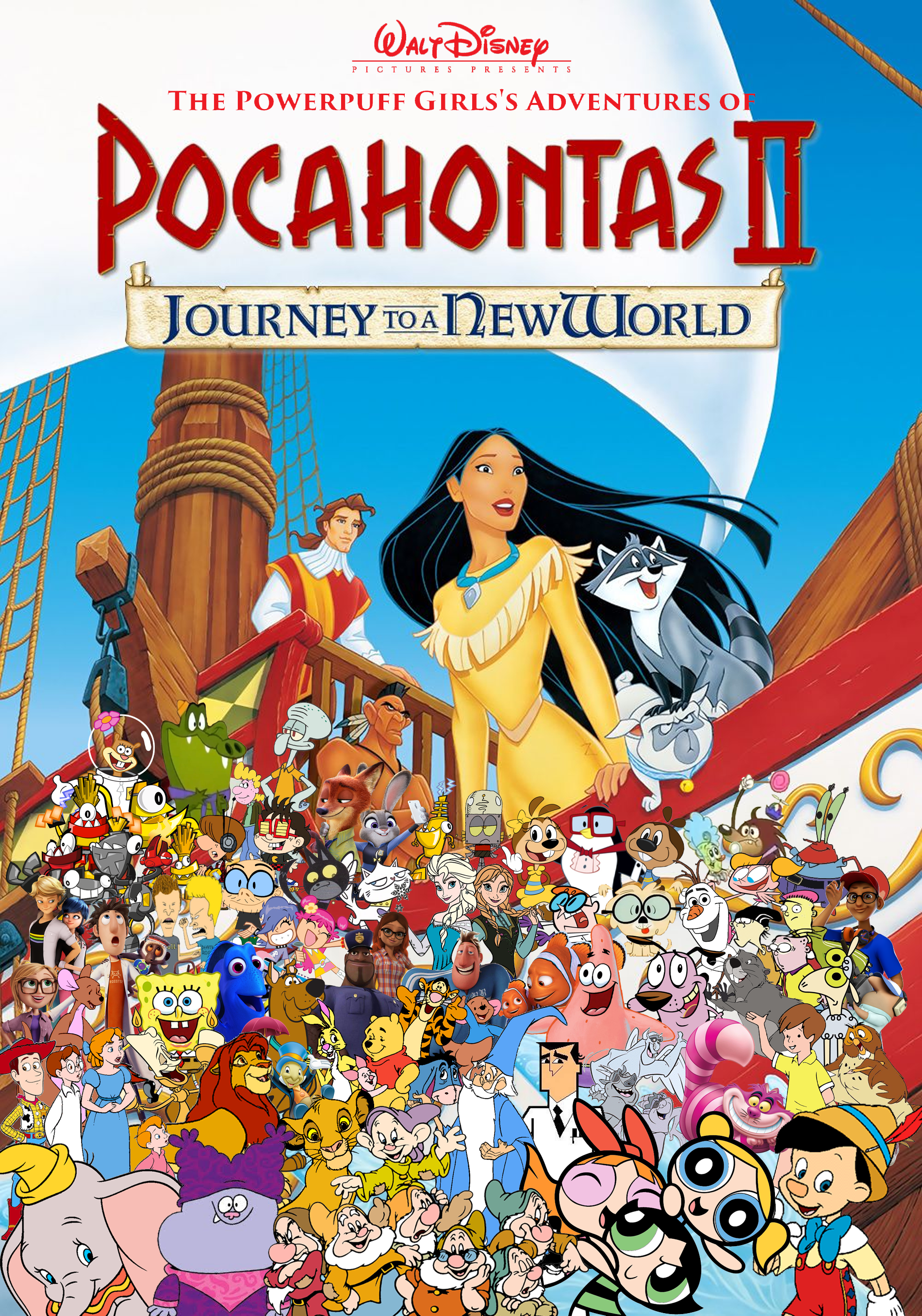 The Powerpuff Girls' Adventures of Pocahontas 2: Journey to a New World