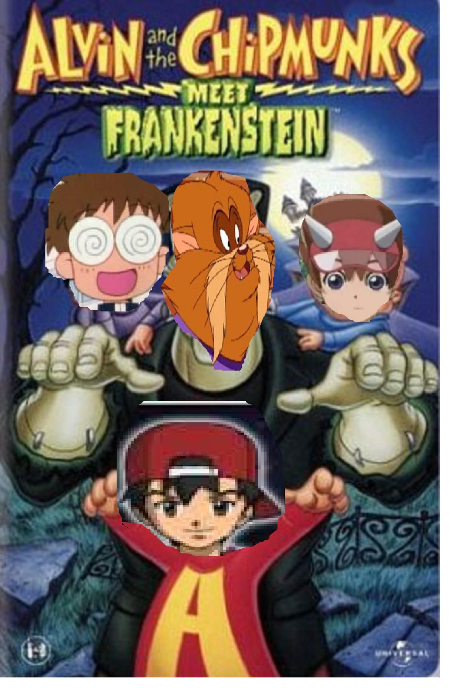 Akira and the Kids Meet Frankenstein