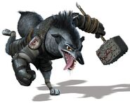 Boss Wolf the ugly jerk