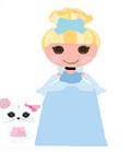 Cinder Slippers as Cinderella