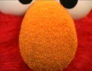 Elmo's nose close-up snapshot from Elmo's World-Noses