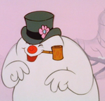 Frosty the Snowman laughing