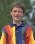 Graham Leach wears a raincoat shirt again