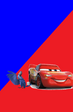 Lightning McQueen and Blu (Partners)