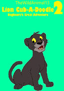 Lion Cub-A-Doodle 2 Bagheera's Great Adventure Poster