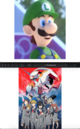 Luigi Likes Darling In The Franxx