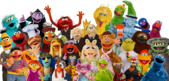 Muppets and Sesame Street Characters