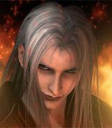 Sephiroth in Crisis Core- Final Fantasy VII
