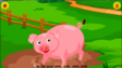 Animal Sounds Song Pig