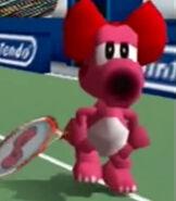 Birdo in Mario Tennis