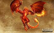 H7 ardent dragon artwork