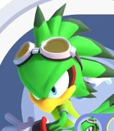 Jet the Hawk in Mario and Sonic at the Olympic Games Tokyo 2020