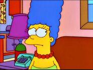 Marge looks worried.