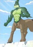 Monster rancher centaur by giuseppedirosso-dbvoedb