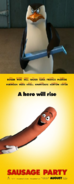 Skipper Hates Sausage Party (2016)