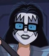 Scooby-Doo and Kiss rock and roll mystery