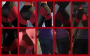 Violet Parr's Butt Collage
