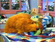 Bear and Treelo hug