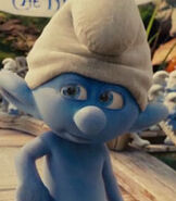Clumsy Smurf in The Smurfs