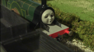 Emily is surprised when Thomas passes her.