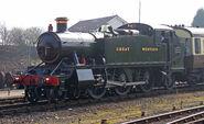 GWR 5164 at Kidderminster