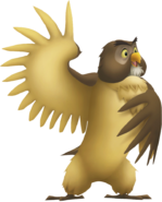 Owl kingdom hearts