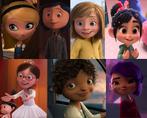 Penny, Coraline Jones, Riley Andersen, Vanellope von Schweetz, Margo Tip and Mai
