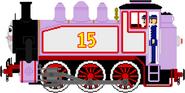 Rosie the Little Pink Engine