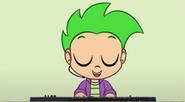 Spike in Fluttershy's Lament