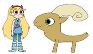 Star meets Desert Bighorn Sheep