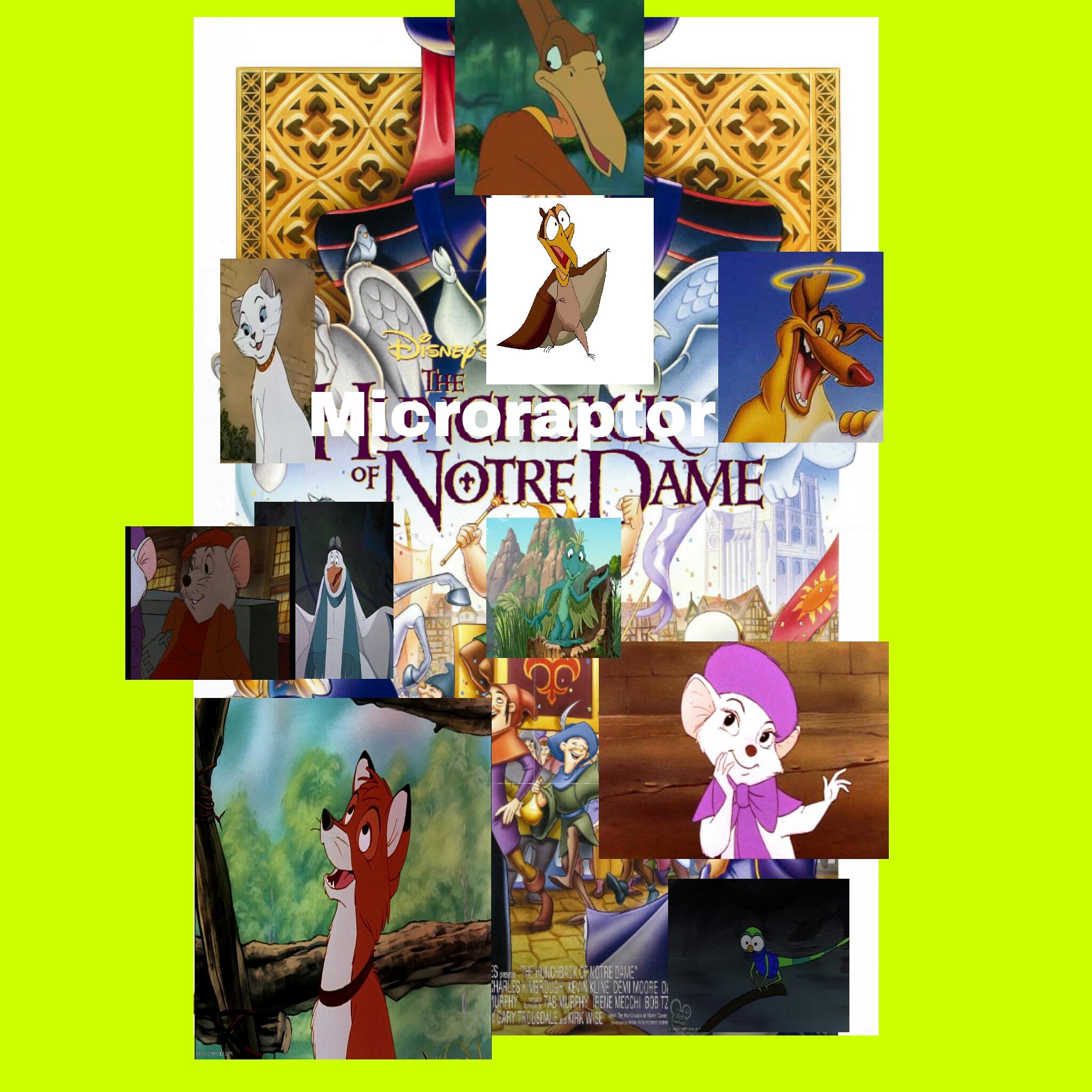 The Microraptor of Notre Dame