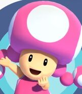 Toadette in Mario and Sonic at the Olympic Games Tokyo 2020
