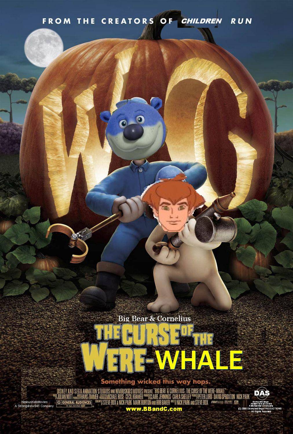 Big Bear and Cornelius: The Cruse of the Were-Whale