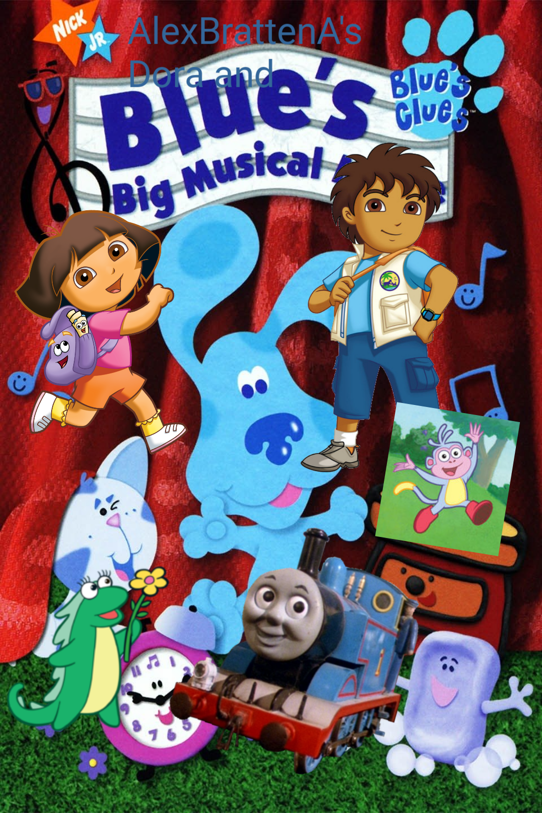 Dora and Blue's Big Musical Movie (DVD)