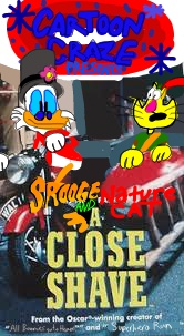 Cartoon Craze Presents: Scrooge & Nature Cat: A Close Shave