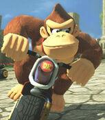 Donkey Kong in Mario Kart 8