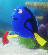 Dory in Pixar Popcorn