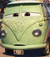 Fillmore in Cars 3