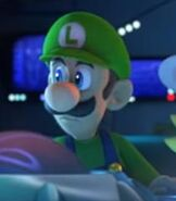 Luigi in Mario + Rabbids Sparks of Hope