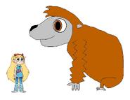 Star meets Gigantopithecus