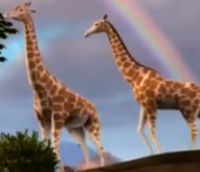 Superbook Giraffes
