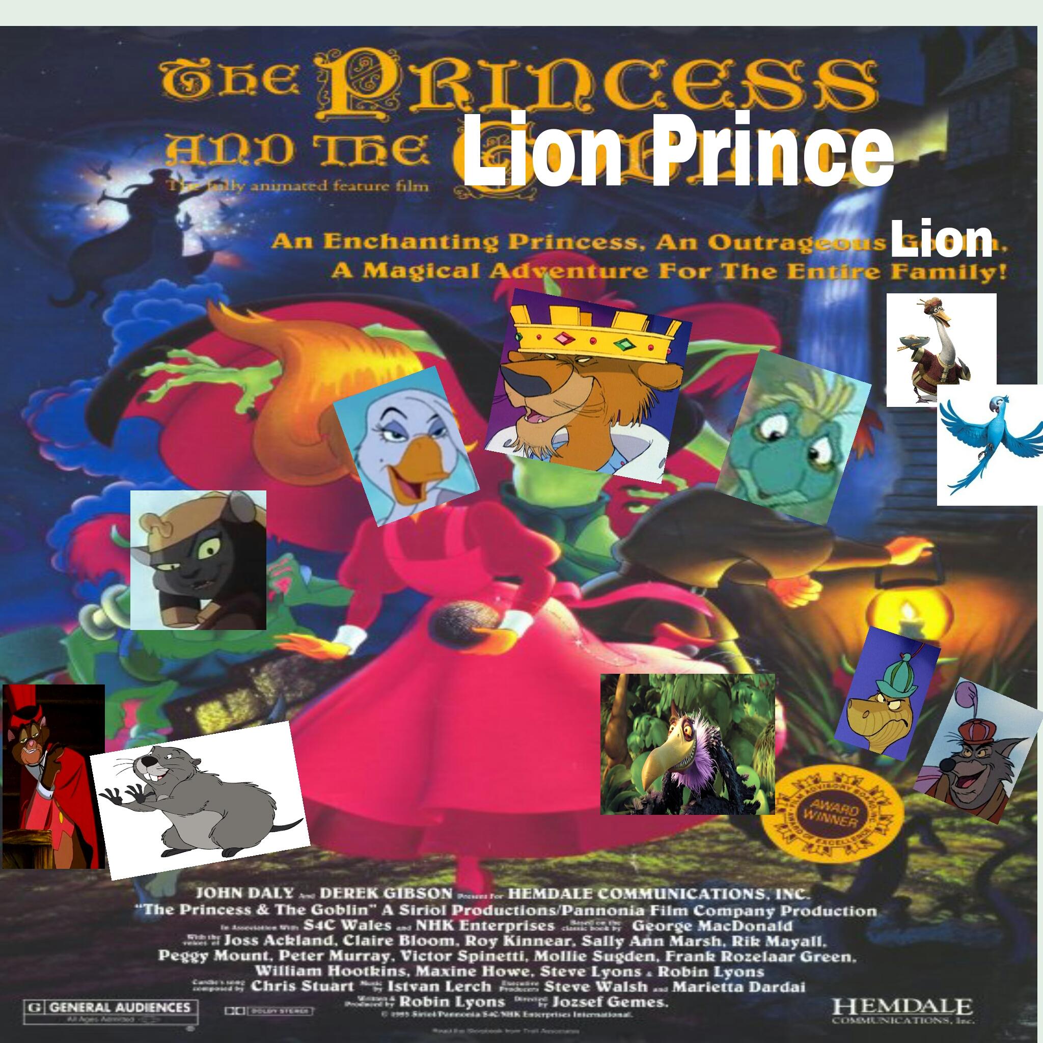 The Princess and the Lion Prince