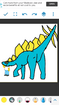 Homer Simpson as Stegosaurus