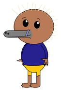 Kenai Hidna (straw) (Swim suit)