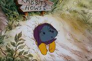 Miss Bianca Gets Stuck in Rabbit's Front Door